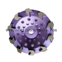 Buy cheap Diamond cup wheel grinding disc from wholesalers