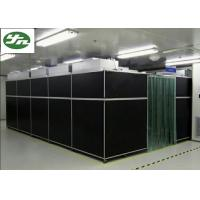 Buy cheap Vertical Flow Class 100 Cleanroom , PVC Transparent Wall Clean Rooms Easy Move from wholesalers