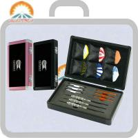 Buy cheap Colorful dart cases, customized holder of three darts and flights inside, new, fashionable design from wholesalers