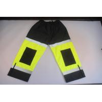 Buy cheap High visibility work clothes hi vis reflective pants with zipper leg opening product