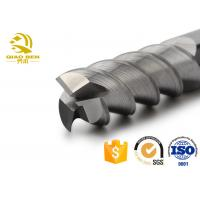 Buy cheap 3 Flute Cnc Carbide Tools Carbide Tipped Milling Cutters Large Scale Cutting from wholesalers