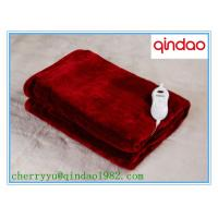 Buy cheap Ten Heat Settings Timer Heated throw Electric Over Blanket from wholesalers