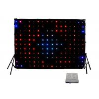 Buy cheap Professional 5050 SMD LED Stage Curtain P18 P15 P12 P10 P5 for Night Club / Bar DJ from wholesalers