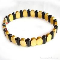 Buy cheap Magnetic Bracelet with Far infrared,Negative ion or Germanium from wholesalers