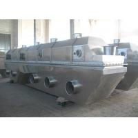 Buy cheap Hot Air Type Food Industry Vibrating Fluid Bed Drying Machine With Mirror Finished product