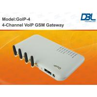 Buy cheap GSM Dial 4 ports NTP VoIP SIP & H.323 Gateway VLAN / QoS from wholesalers