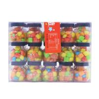 Buy cheap Lucky Bubblegum Chewing Gum / Colorful Crispy Chewing Candy Packed In Jar from wholesalers
