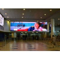 Buy cheap 64×64 Dots White Indoor Led Displays For Basketball Stadium 2500nit from wholesalers