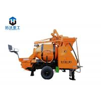 Buy cheap Railway Tunnels Portable Small Cement Mixer , Mini Mix Concrete Pump from wholesalers