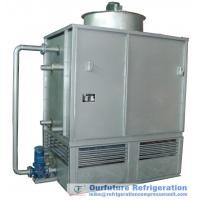 Evaporative Cooling Tower : Induced draft type evaporative cooled condenser