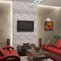 Buy cheap Eco-friendly 3-D Board Decorative Wall Decals with Hard Texture and Moisture-resistant from wholesalers