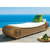 Buy cheap Mattress Design Rattan Garden Sun Loungers for One Person from wholesalers