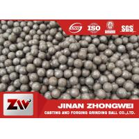 Hot rolling B2 matrial  SAG mill grinding balls for Cement Plant