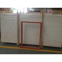 Buy cheap Red line White Jade ,  imported marble  slab with best quality product