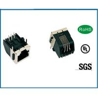 Buy cheap Pluggable Female RJ45 Modular Jack Connector Support 4 Pin 6 Pin 8 Pin from wholesalers