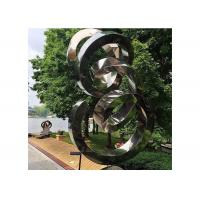Spiral contemporary garden decoration stainless steel for A t design decoration co ltd