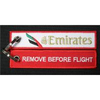 Buy cheap Emirates Airline Bag Tag Remove Before Flight Keyring from wholesalers