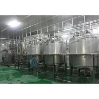 Buy cheap Stainless Steel Fruit Juice Processing Line 2T-5T/H Apple Juice Production Line from wholesalers