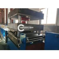 Buy cheap W Beam Guard Rail Roll Forming Machine , Cold Forming Machine Fast Speed from wholesalers
