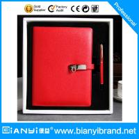 Buy cheap metal pen with notebook customized logo gift pen set from wholesalers
