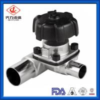 China Heat Resistant 3 Way Diaphragm Valve T Type  Flow Structure Fast Assembly on sale