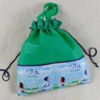Buy cheap Small Recycled Drawstring Non Woven Bag , Cusotm Non Woven Printed Bags from wholesalers
