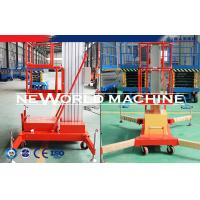 Buy cheap Electric Aluminum Alloy Aerial Work Platform Rental Telescopic Man Lift Platform from wholesalers