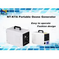 Buy cheap 3 - 5 G / Hr Air Cooling 80W Commercial Ozone Generator Disinfection Air Water from wholesalers