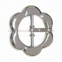 Buy cheap Zinc-alloy Shoe/Garment/Bag Plastic Buckle in Various Shapes, OEM Orders are Welcome from wholesalers