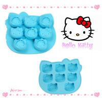 Buy cheap non-toxic odorless silicone cake mold Hello kitty For Home , Hotel product