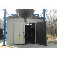 Buy cheap Environmental Protection Shot Blasting Booth With Dust Removal System / Lighting Device from wholesalers