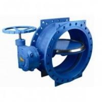Buy cheap 125 lbs / 200psi Double Eccentric / flange Butterfly Valve with HandWheel,ASME,DIN,JIS from wholesalers