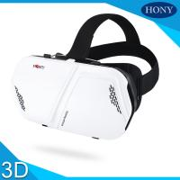 Buy cheap Portable 3d Virtual Reality Glasses , Promotional Vr 3d Glasses For Mobilphone from wholesalers