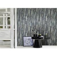 Buy cheap Fashion PVC Modern Removable Wallpaper , Vinyl Grey And White Wallpaper product