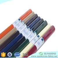 Buy cheap Colorful PP spunbond nonwoven fabric,polypropylene,wrapping paper for flower,printed nonwoven,black fabric table clothes from wholesalers