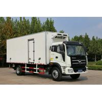 Buy cheap 8 Ton / 10 Ton FOTON Refrigerated Truck Box Freezer Van With Lifting Plate from wholesalers