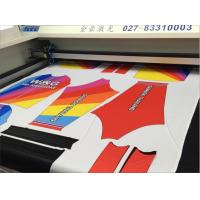 Buy cheap Vision Camera Fiber Laser Cutting Machine For Sublimation Printed Baseball from wholesalers