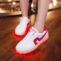 Buy cheap Noval LED Light Up Sneakers PU Leather Rubber Sole White Led Shoes For Parties from wholesalers