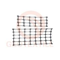 Buy cheap Tear Resistant Black Poly Geogrid , Durable Geogrids In Pavement Construction product