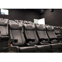 Buy cheap Attractive Cinema 4D Cinema System, 4D Theater with Pneumatic/Hydraulic/Electric Motion Chair from wholesalers
