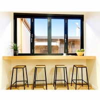 Buy cheap Pantry Forested Glass Vertical Aluminium Bi Fold Window from wholesalers