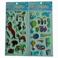Buy cheap Glow-in-dark luminous stickers, used for promotional gifts, advertisement and premiums product