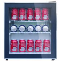 Buy cheap Direct Cooling Beverage Cooler Refrigerator , 48L Low Noise Mini Display Fridge from wholesalers