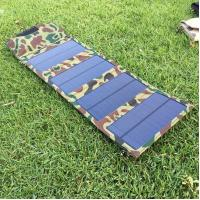 Buy cheap 7W Mini Solar Panel Cell Phone Charger,5V Outdoor Portable Solar Energy Powered Phone Charger from wholesalers