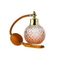 Buy cheap Long Hose Glass Round Perfume Bottle 100Ml Perfume Atomizer With Bulb from wholesalers