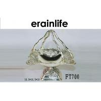 Buy cheap Restaurant Metal Fruit Basket Silver Fruit Trays Ideas Different Shape from wholesalers