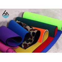 Buy cheap Waterproof Neoprene Fabric Sheets Polyethylene Rubber Sheet For Sports Products from wholesalers