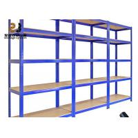 Quality Cold Rolled Steel Galvanized Pallet Rack Shelving 1500 - 8000mm Height for sale