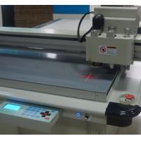 Buy cheap white carton box Packaging cutter table sample maker machine from wholesalers