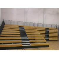 Buy cheap Event Center Wood Bleacher Seating With Kiln Dried Lumber Seat Base from wholesalers